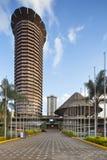 Costruzione di KICC a Nairobi, Kenya fotografia stock libera da diritti