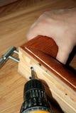 Costruzione di legno Fotografie Stock