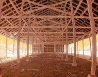 Costruzione di legno Fotografia Stock