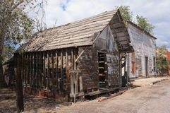 Costruzione di legno abbandonata, Utah. Immagini Stock Libere da Diritti