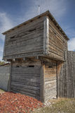 Costruzione di legno della fortificazione Fotografia Stock