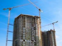 Costruzione di lungomare di Belgrado immagini stock