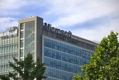 Costruzione di Microsoft Immagine Stock