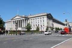 Costruzione di Ministero del Tesoro degli Stati Uniti Immagini Stock Libere da Diritti