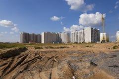 Costruzione di nuova casa Fotografia Stock Libera da Diritti