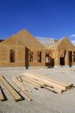 Costruzione di nuova casa Fotografie Stock