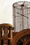 Costruzione di nuova chiesa. fotografie stock