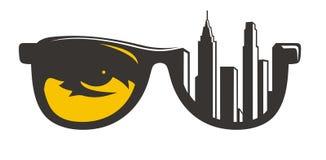 Costruzione di occhiali Immagine Stock