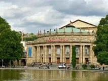 Costruzione di opera di Stuttgart Fotografie Stock Libere da Diritti