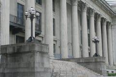 Costruzione di ordine e di legge Fotografie Stock Libere da Diritti