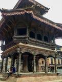 Costruzione di osservazione di Meteological di regno di Bhaktapur Fotografie Stock