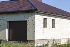 Costruzione di piccola casa Immagine Stock Libera da Diritti