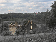 Costruzione di pietra di abbandono Immagini Stock
