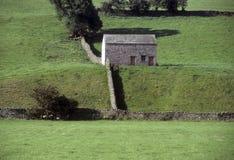 Costruzione di pietra in rurale inglese fotografia stock libera da diritti