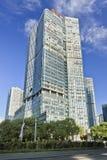 Costruzione di plaza di fortuna nel centro di Pechino, Cina Immagini Stock
