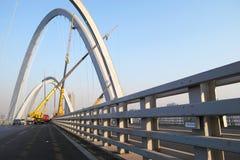 Costruzione di ponte Fotografie Stock