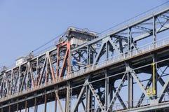 Costruzione di ponte Fotografia Stock Libera da Diritti