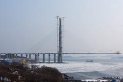 Costruzione di ponte Immagini Stock Libere da Diritti