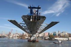 Costruzione di ponte a Costantinopoli Fotografia Stock Libera da Diritti