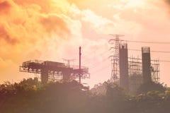 Costruzione di ponte d'acciaio Immagini Stock Libere da Diritti