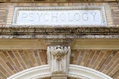 Costruzione di psicologia Fotografie Stock