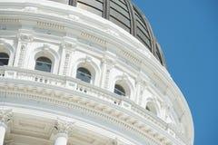 Costruzione di Sacramento Campidoglio di California fotografie stock libere da diritti