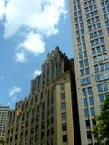 Costruzione di stile di Art Deco a Boston Massachusetts immagini stock libere da diritti