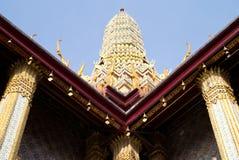 Costruzione di stile di Tailandese-arte Immagine Stock Libera da Diritti