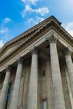Costruzione di stile romano Fotografie Stock Libere da Diritti