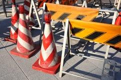 Costruzione di strade Fotografia Stock