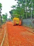 costruzione di strade del villaggio Immagine Stock Libera da Diritti