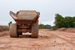 Costruzione di strade una scena industriale Fotografia Stock Libera da Diritti