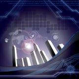 Costruzione di tecnologia Immagini Stock
