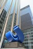 Costruzione di Tempo-Vita a New York City Immagini Stock Libere da Diritti