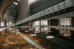 Costruzione di Tsunami del museo in Banda Aceh City fotografia stock