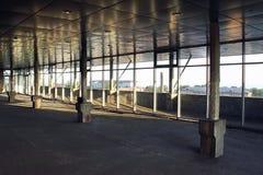 Costruzione di un centro commerciale Immagine Stock Libera da Diritti