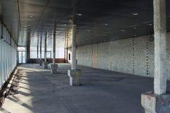 Costruzione di un centro commerciale Fotografie Stock Libere da Diritti