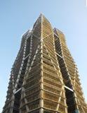 Costruzione di un edificio alto Fotografia Stock