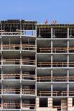 Costruzione di un edificio residenziale Fotografia Stock Libera da Diritti
