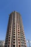 Costruzione di un edificio residenziale Immagine Stock Libera da Diritti