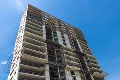 Costruzione di un grattacielo Fotografie Stock