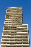 Costruzione di un grattacielo Immagini Stock Libere da Diritti