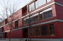Costruzione di USI, italiana di Svizzera di della di Universita, a Lugano, la Svizzera Fotografia Stock