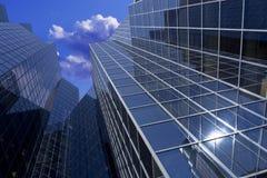 Costruzione di vetro alta Immagine Stock