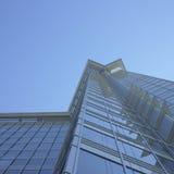 Costruzione di vetro alta Immagini Stock