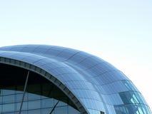 Costruzione di vetro del tetto Fotografie Stock