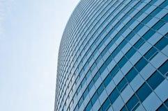 Costruzione di vetro di affari Fotografie Stock
