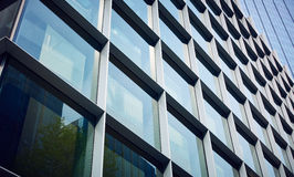 Costruzione di vetro moderna Fotografia Stock