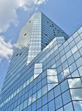 Costruzione di vetro a Varsavia Immagini Stock Libere da Diritti
