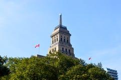 Costruzione di vita del Canada Fotografia Stock